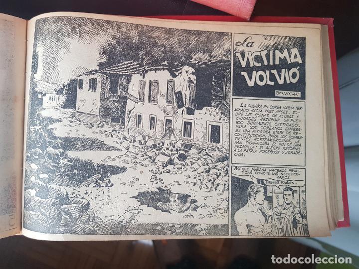 Tebeos: COLECCIÓN 24 TEBEOS/CÓMIC TOMO ORIGINAL MUNDO FUTURO 1 ALMANAQUE 1956 HAZAÑAS BÉLICAS 1955 TORAY( 3) - Foto 19 - 218950456