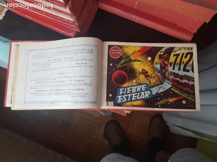 Tebeos: COLECCIÓN 25 TEBEOS/CÓMIC TOMO ORIGINAL MUNDO FUTURO ALMANAQUE 1957 HAZAÑAS BÉLICAS TORAY( 1) - Foto 5 - 218951385