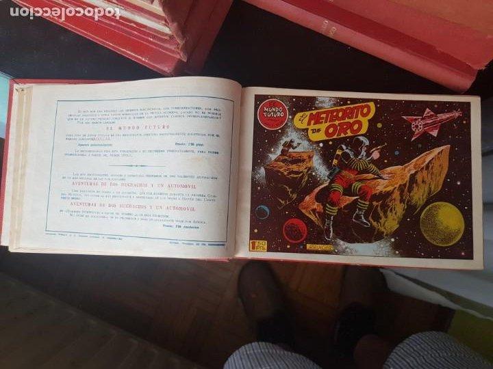 Tebeos: COLECCIÓN 25 TEBEOS/CÓMIC TOMO ORIGINAL MUNDO FUTURO ALMANAQUE 1957 HAZAÑAS BÉLICAS TORAY( 1) - Foto 6 - 218951385