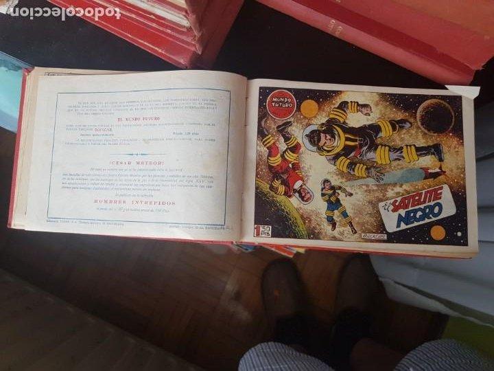 Tebeos: COLECCIÓN 25 TEBEOS/CÓMIC TOMO ORIGINAL MUNDO FUTURO ALMANAQUE 1957 HAZAÑAS BÉLICAS TORAY( 1) - Foto 7 - 218951385