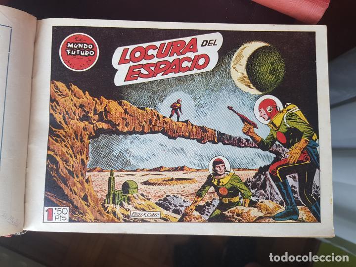 Tebeos: COLECCIÓN 25 TEBEOS/CÓMIC TOMO ORIGINAL MUNDO FUTURO ALMANAQUE 1957 HAZAÑAS BÉLICAS TORAY( 1) - Foto 9 - 218951385