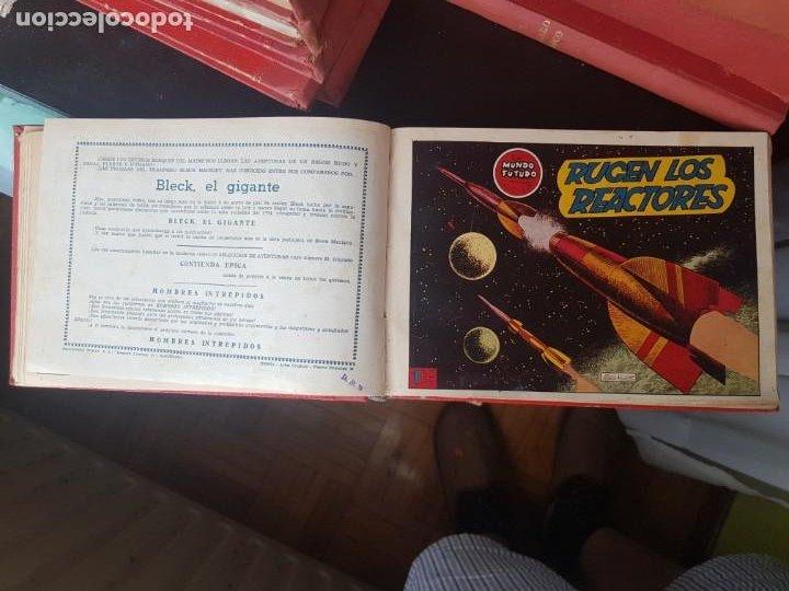 Tebeos: COLECCIÓN 25 TEBEOS/CÓMIC TOMO ORIGINAL MUNDO FUTURO ALMANAQUE 1957 HAZAÑAS BÉLICAS TORAY( 1) - Foto 12 - 218951385