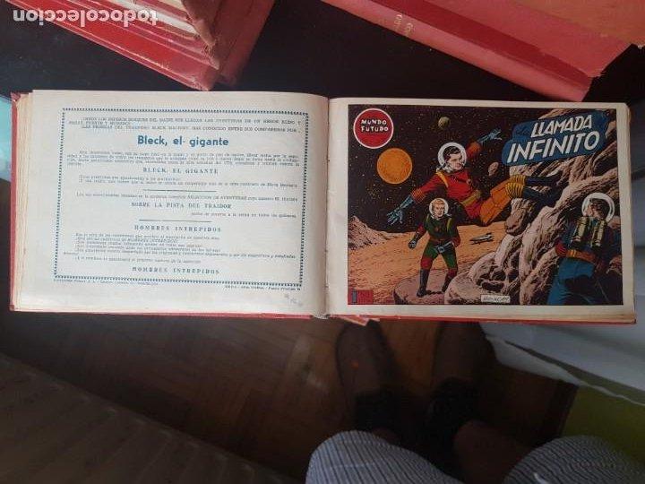 Tebeos: COLECCIÓN 25 TEBEOS/CÓMIC TOMO ORIGINAL MUNDO FUTURO ALMANAQUE 1957 HAZAÑAS BÉLICAS TORAY( 1) - Foto 13 - 218951385