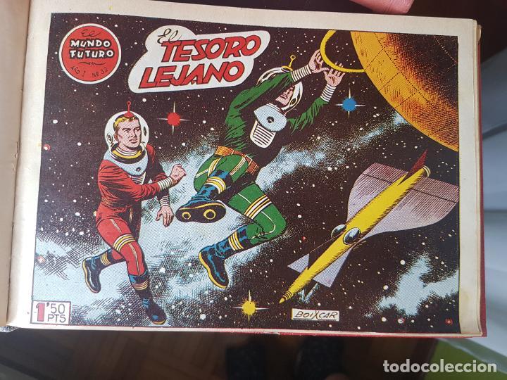 Tebeos: COLECCIÓN 25 TEBEOS/CÓMIC TOMO ORIGINAL MUNDO FUTURO ALMANAQUE 1957 HAZAÑAS BÉLICAS TORAY( 1) - Foto 17 - 218951385