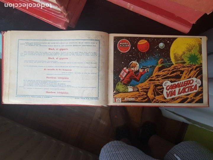 Tebeos: COLECCIÓN 25 TEBEOS/CÓMIC TOMO ORIGINAL MUNDO FUTURO ALMANAQUE 1957 HAZAÑAS BÉLICAS TORAY( 1) - Foto 18 - 218951385