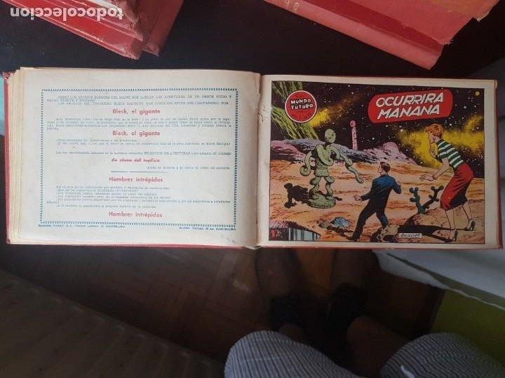 Tebeos: COLECCIÓN 25 TEBEOS/CÓMIC TOMO ORIGINAL MUNDO FUTURO ALMANAQUE 1957 HAZAÑAS BÉLICAS TORAY( 1) - Foto 21 - 218951385