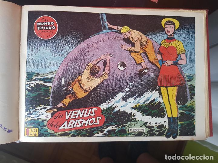 Tebeos: COLECCIÓN 25 TEBEOS/CÓMIC TOMO ORIGINAL MUNDO FUTURO ALMANAQUE 1957 HAZAÑAS BÉLICAS TORAY( 1) - Foto 23 - 218951385