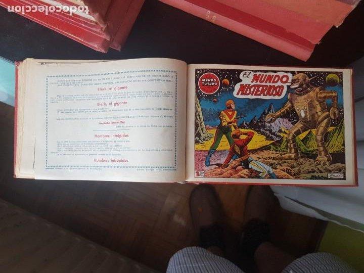 Tebeos: COLECCIÓN 25 TEBEOS/CÓMIC TOMO ORIGINAL MUNDO FUTURO ALMANAQUE 1957 HAZAÑAS BÉLICAS TORAY( 1) - Foto 24 - 218951385