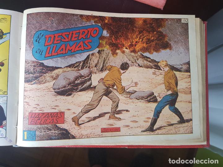 Tebeos: COLECCIÓN 25 TEBEOS/CÓMIC TOMO ORIGINAL MUNDO FUTURO ALMANAQUE 1957 HAZAÑAS BÉLICAS TORAY( 1) - Foto 32 - 218951385