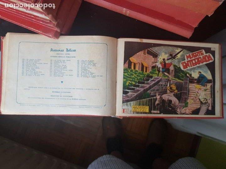 Tebeos: COLECCIÓN 25 TEBEOS/CÓMIC TOMO ORIGINAL MUNDO FUTURO ALMANAQUE 1957 HAZAÑAS BÉLICAS TORAY( 1) - Foto 33 - 218951385
