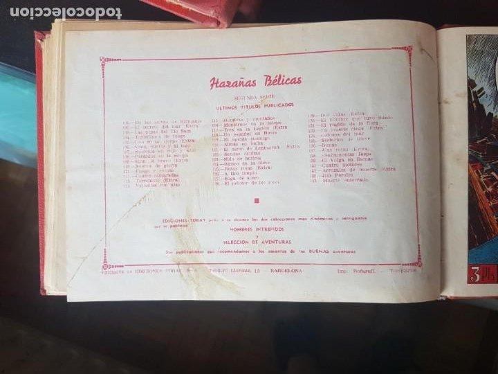 Tebeos: COLECCIÓN 25 TEBEOS/CÓMIC TOMO ORIGINAL MUNDO FUTURO ALMANAQUE 1957 HAZAÑAS BÉLICAS TORAY( 1) - Foto 35 - 218951385