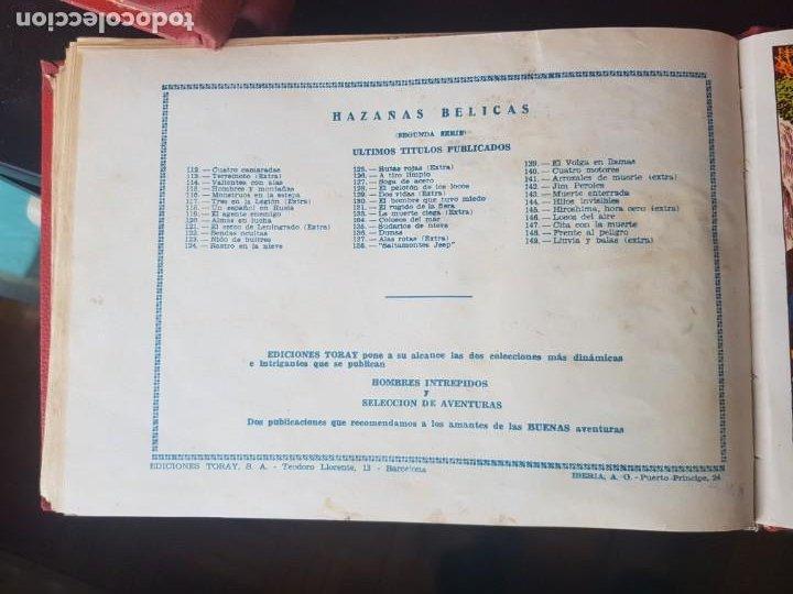Tebeos: COLECCIÓN 25 TEBEOS/CÓMIC TOMO ORIGINAL MUNDO FUTURO ALMANAQUE 1957 HAZAÑAS BÉLICAS TORAY( 1) - Foto 39 - 218951385