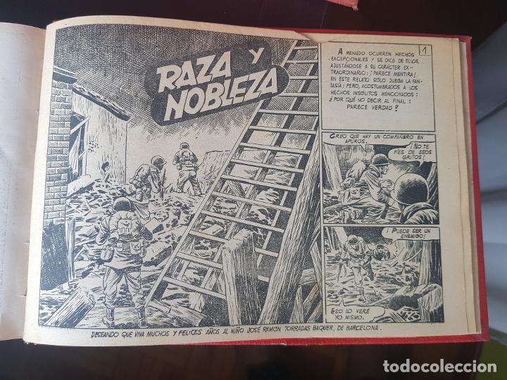Tebeos: COLECCIÓN 25 TEBEOS/CÓMIC TOMO ORIGINAL MUNDO FUTURO ALMANAQUE 1957 HAZAÑAS BÉLICAS TORAY( 1) - Foto 41 - 218951385