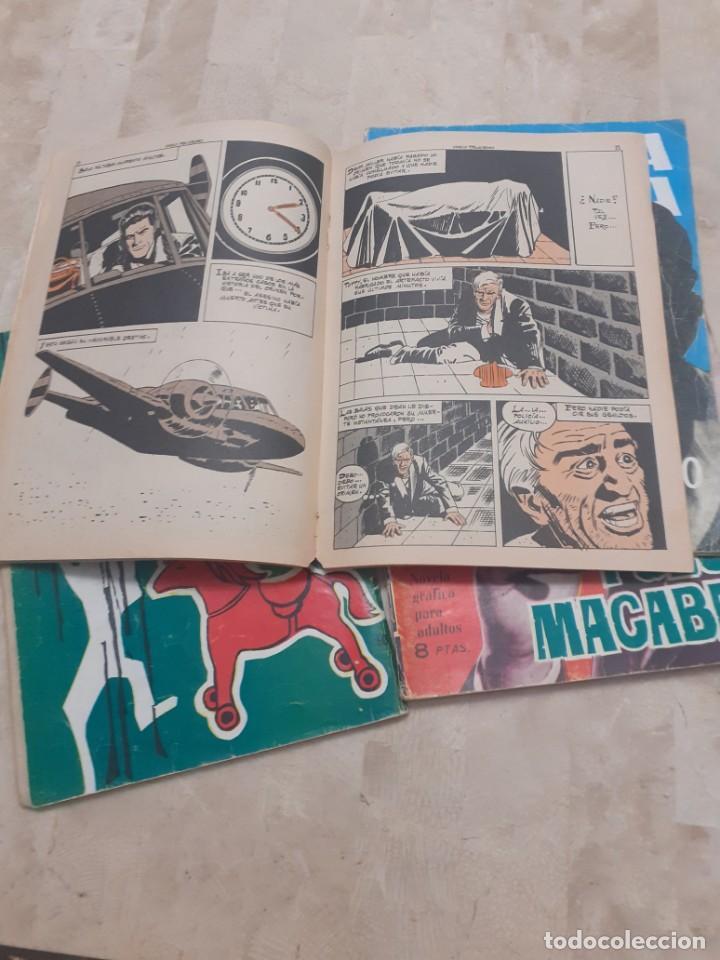 Tebeos: lote de 4 comics para adultos de la coleccion Brigada Secreta - Foto 2 - 219109246