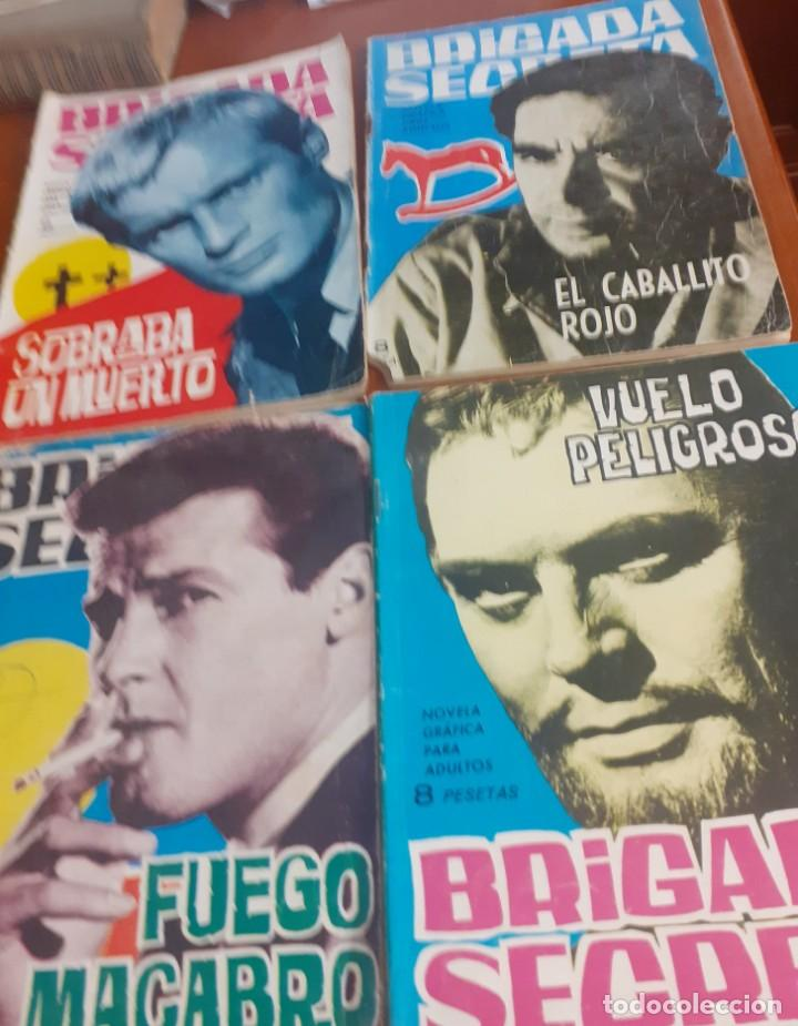 Tebeos: lote de 4 comics para adultos de la coleccion Brigada Secreta - Foto 6 - 219109246