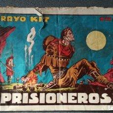 Tebeos: RAYO KIT ¡¡PRISIONEROS!!. Lote 219330135