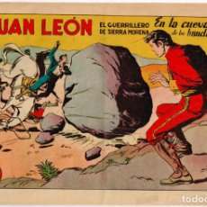 Tebeos: JUAN LEON EL GUERRILLERO DE SIERRA MORENA Nº 7. Lote 219422476
