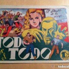 Tebeos: DIABLO DE LOS MARES -TODO POR TODO. Lote 219573082