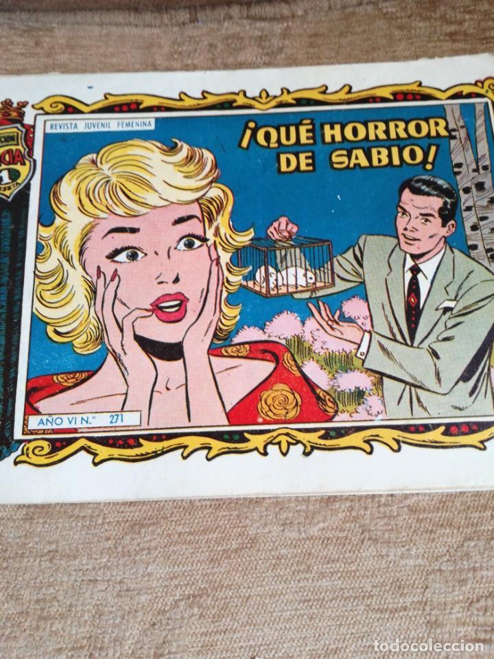 QUE HORROR DD SABIO!!! NUM 271 (Tebeos y Comics - Toray - Alicia)
