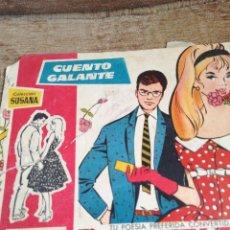 Livros de Banda Desenhada: CUENTO GALANTE. Lote 220263680
