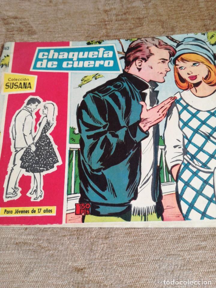 CHAQUETA DE CUERO (Tebeos y Comics - Toray - Susana)
