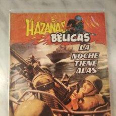 Tebeos: HAZAÑAS BÉLICAS Nº 6 - LA NOCHE TIENE ALAS - EDITORIAL G4 -. Lote 220499596