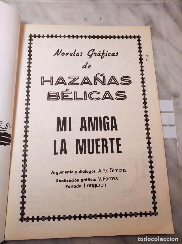 Tebeos: HAZAÑAS BÉLICAS Nº 8 - MI AMIGA LA MUERTE - EDICIONES G4 - - Foto 4 - 220506677