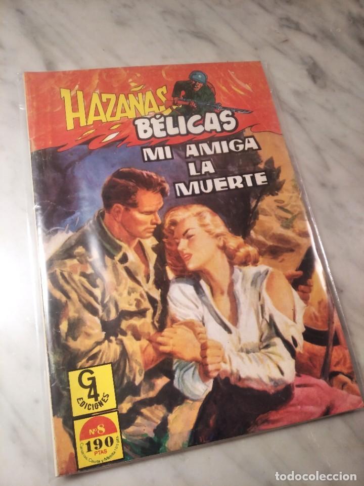 Tebeos: HAZAÑAS BÉLICAS Nº 8 - MI AMIGA LA MUERTE - EDICIONES G4 - - Foto 10 - 220506677