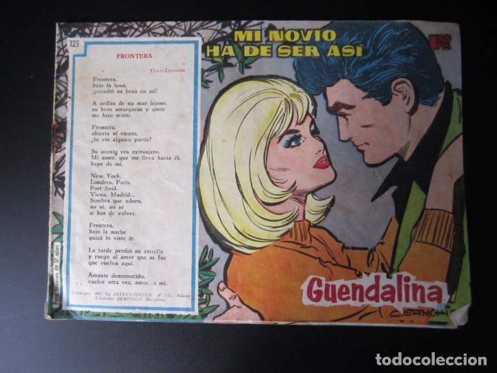 GUENDALINA (1959, TORAY) 125 · 1-XII-1961 · MI NOVIO HA DE SER ASÍ (Tebeos y Comics - Toray - Guendalina)