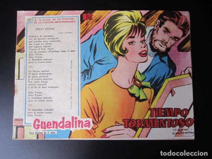 GUENDALINA (1959, TORAY) 121 · 3-XI-1961 · TIEMPO TORMENTOSO (Tebeos y Comics - Toray - Guendalina)