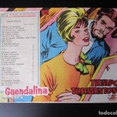 Tebeos: GUENDALINA (1959, TORAY) 121 · 3-XI-1961 · TIEMPO TORMENTOSO. Lote 220588981