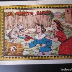 Tebeos: AZUCENA (1950, TORAY) 80 · 18-IX-1951 · EL MONITO SABIO. Lote 220596393