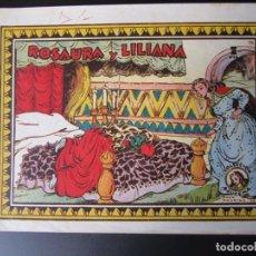 Tebeos: AZUCENA (1950, TORAY) 76 · 14-IX-1951 · ROSAURA Y LILIANA. Lote 220629222