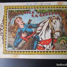 Livros de Banda Desenhada: AZUCENA (1950, TORAY) 186 · 8-VI-1951 · BERENICE LA GUERRERA. Lote 220633155