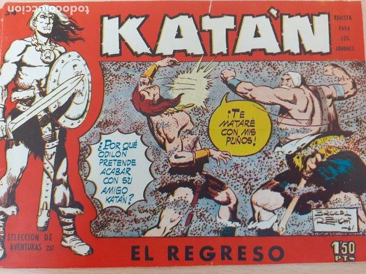 KATÁN Nº 34. ORIGINAL. EL REGRESO. TORAY 1958 (Tebeos y Comics - Toray - Katan)