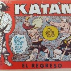 Giornalini: KATÁN Nº 34. ORIGINAL. EL REGRESO. TORAY 1958. Lote 220776633