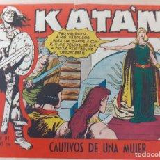 Giornalini: KATÁN Nº 43. ORIGINAL.CAUTIVOS DE UNA MUJAR. TORAY 1958. Lote 220777018