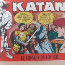Giornalini: KATÁN Nº 39. ORIGINAL. EL CONSEJO DE LOS SEIS. TORAY 1958. Lote 220777252