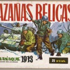 Tebeos: HAZAÑAS BÉLICAS .ALMANAQUE. 1973. Lote 220956263