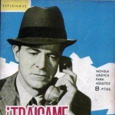 Tebeos: ESPIONAJE-NOVELA GRÁFICA- Nº 11 -¡TRÁIGAME AL ESPÍA!-1965-ANTONIO GUERRERO-BUENO-LEA-3889. Lote 221154372