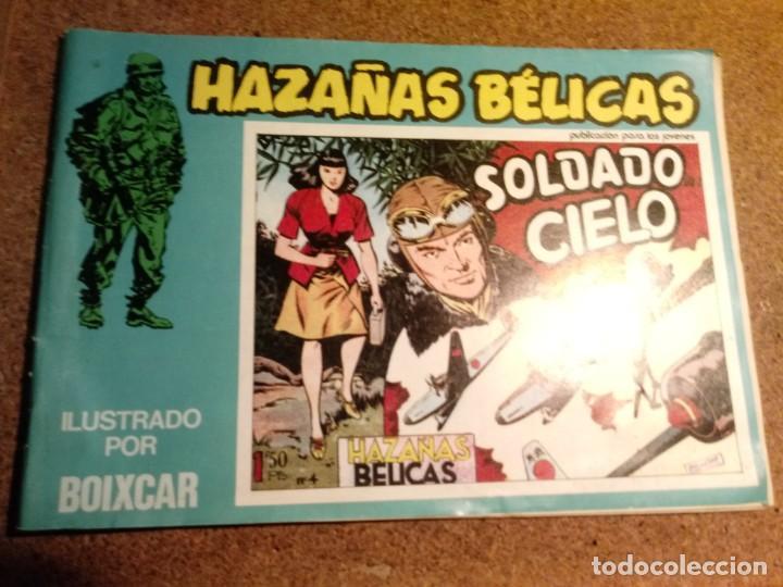 COMIC HAZAÑAS BELICAS EN SOLDADO DEL CIELO Nº 102 (Tebeos y Comics - Toray - Hazañas Bélicas)