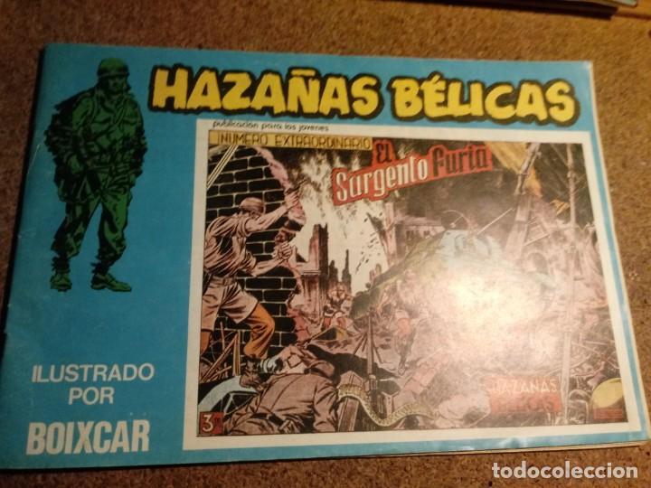 COMIC DE HAZAÑAS BELICAS EL SARGENTO FURIA Nº 125 (Tebeos y Comics - Toray - Hazañas Bélicas)