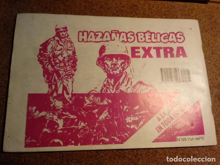 Tebeos: COMIC DE HAZAÑAS BELICAS EL SARGENTO FURIA Nº 125 - Foto 2 - 221277590