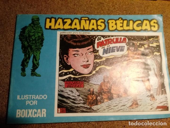 COMIC DE HAZAÑAS BELICAS EN LA PATRUYA DE LA NIEVE Nº 124 (Tebeos y Comics - Toray - Hazañas Bélicas)