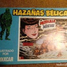 Tebeos: COMIC DE HAZAÑAS BELICAS EN LA PATRUYA DE LA NIEVE Nº 124. Lote 221278107