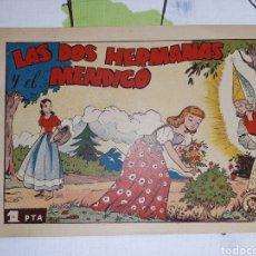 Livros de Banda Desenhada: LAS DOS HERMANAS Y EL MENDIGO, COLECCIÓN AZUCENA 133, AYNÉ. Lote 221361448