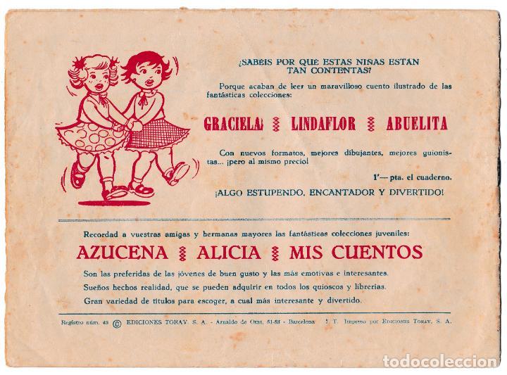 Tebeos: COLECCIÓN CUENTOS DE LA ABUELITA Nº 247 - LA PRINCESITA POBRE - Foto 2 - 221461962