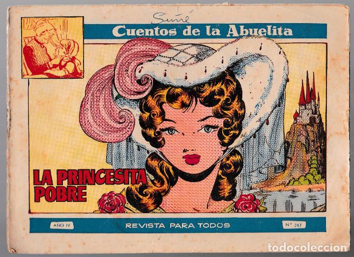 COLECCIÓN CUENTOS DE LA ABUELITA Nº 247 - LA PRINCESITA POBRE (Tebeos y Comics - Toray - Cuentos de la Abuelita)