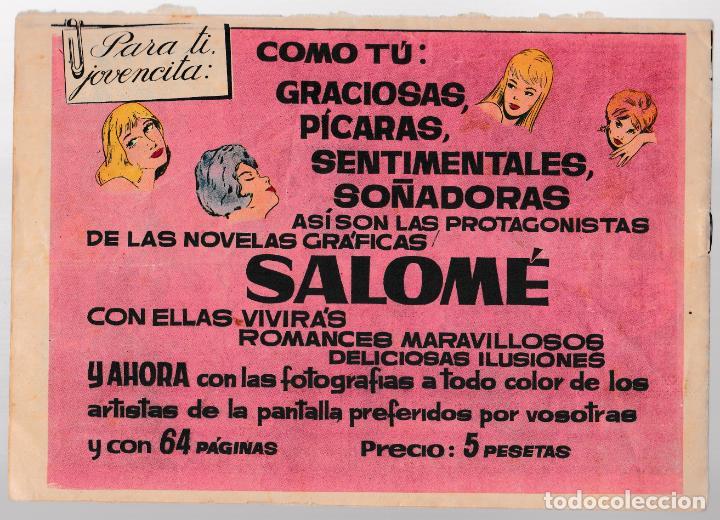 Tebeos: COLECCIÓN AZUCENA Nº 794 - LA CINTA DE PLATA - Foto 2 - 221552863