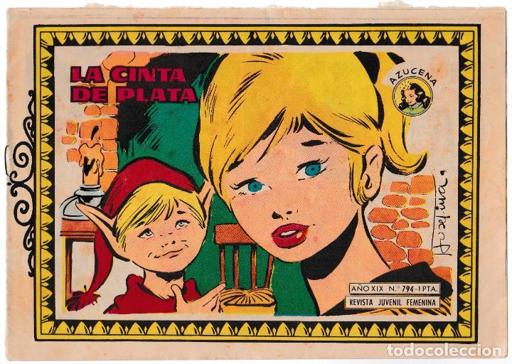 COLECCIÓN AZUCENA Nº 794 - LA CINTA DE PLATA (Tebeos y Comics - Toray - Azucena)